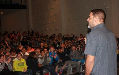 Students enjoy Ray Lozano