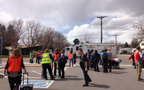 Power outage and electrical smell forces evacuation