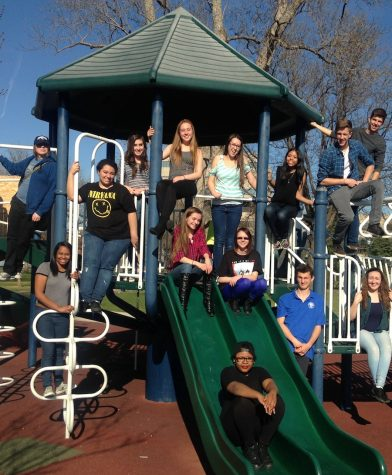 A quick break from competition at a park near UNC in Fort Collins