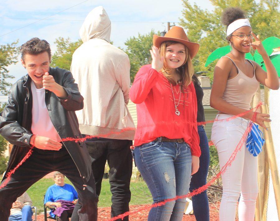 EHS Homecoming Parade 2016