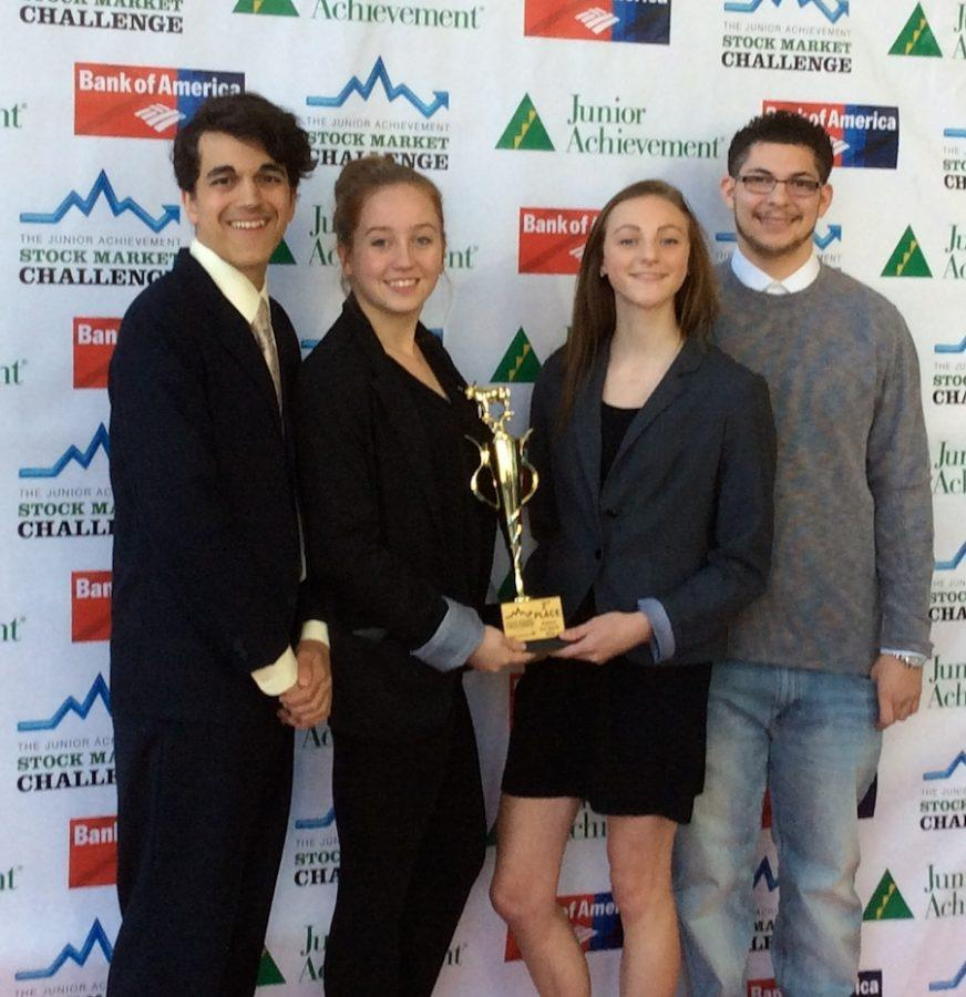 Daniel Martens, Marta Mansbacher, Megan Redford and Matthew Mendez placed 2nd.