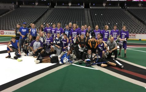 Englewood High School Lacrosse plays the Pepsi Center