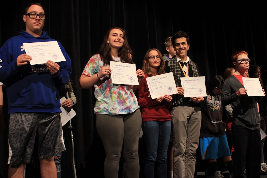Winners at the Academic Awards Breakfast