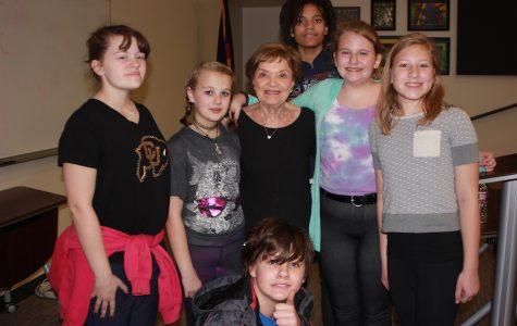 Holocaust survivor tells her story