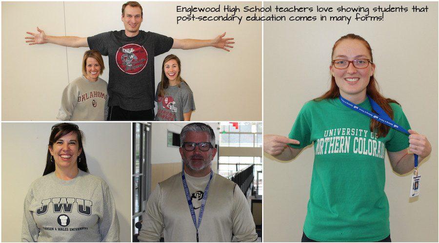 EHS teachers take part in College Friday in Colorado
