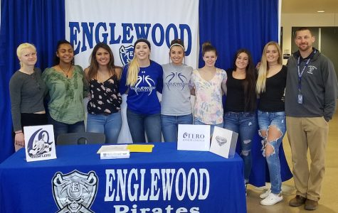 Letter of intent ceremony held for EHS student
