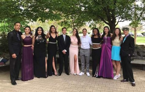 Students enjoy final dance