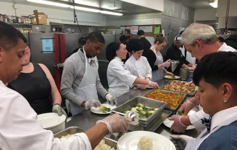 EHS students help with FCCLA banquet dinner