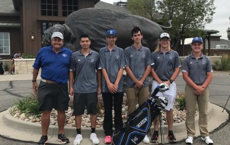 Golf team takes home a win