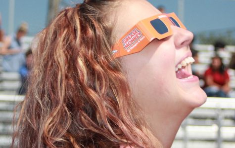 TEC students celebrate the eclipse