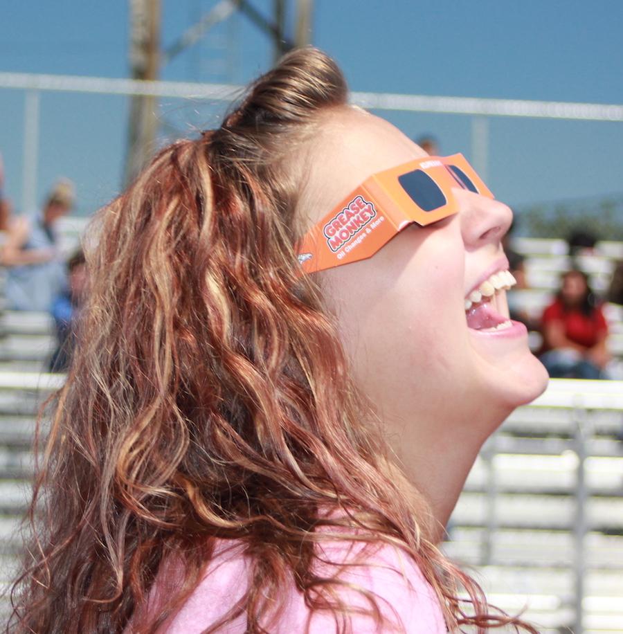 TEC students celebrate the eclipse