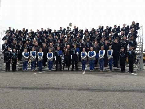 Marching Band takes 3rd at state competition