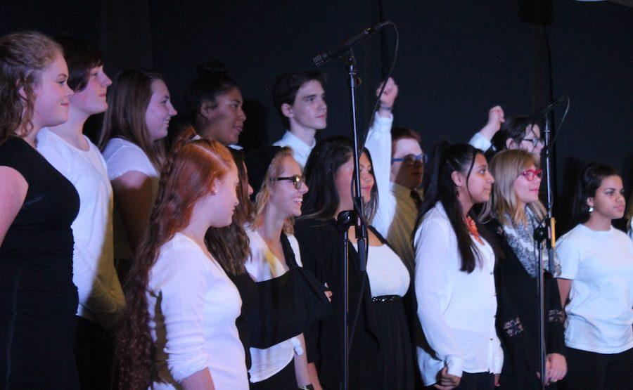 Choir concert at the TEC Gala