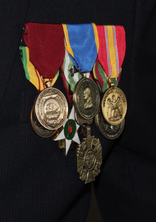 Metals worn by Paul Skizinski