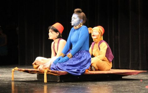 Aladdin plays to a packed and enthusiastic crowd