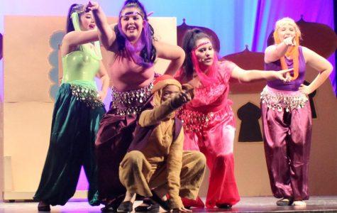 Aladdin was hit