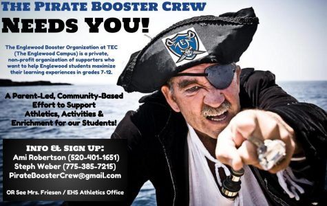 Pirate Booster Crew needs volunteers