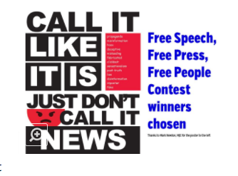 The Pirateer staff wins 3rd place in Free Speech contest