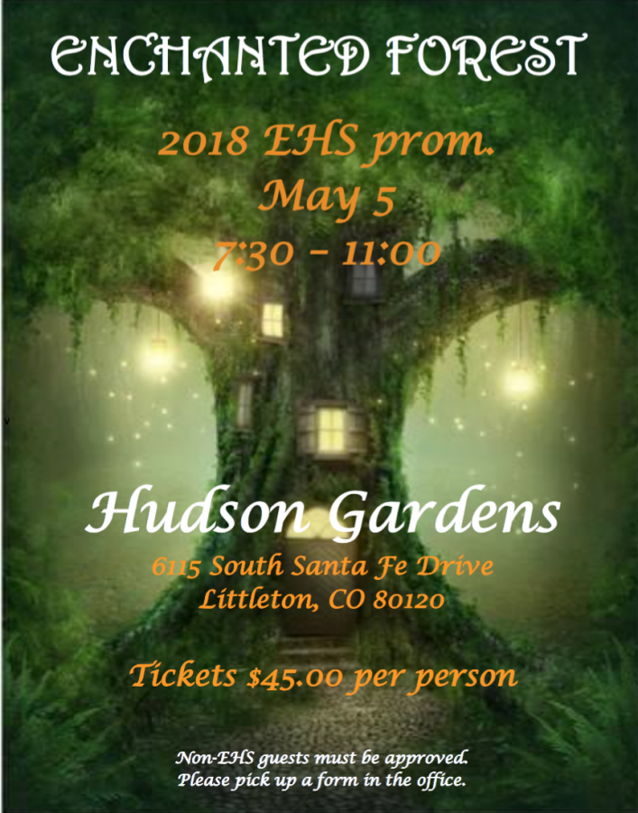 Get your tickets to Prom (soon) Time is running out!