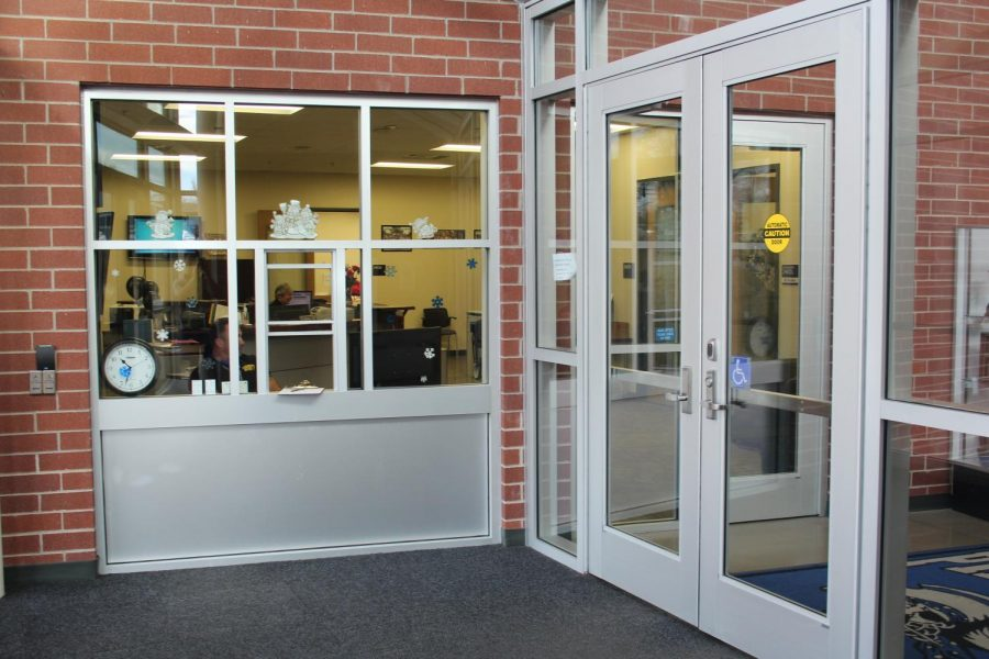The+new+front+door+system+at+EHS