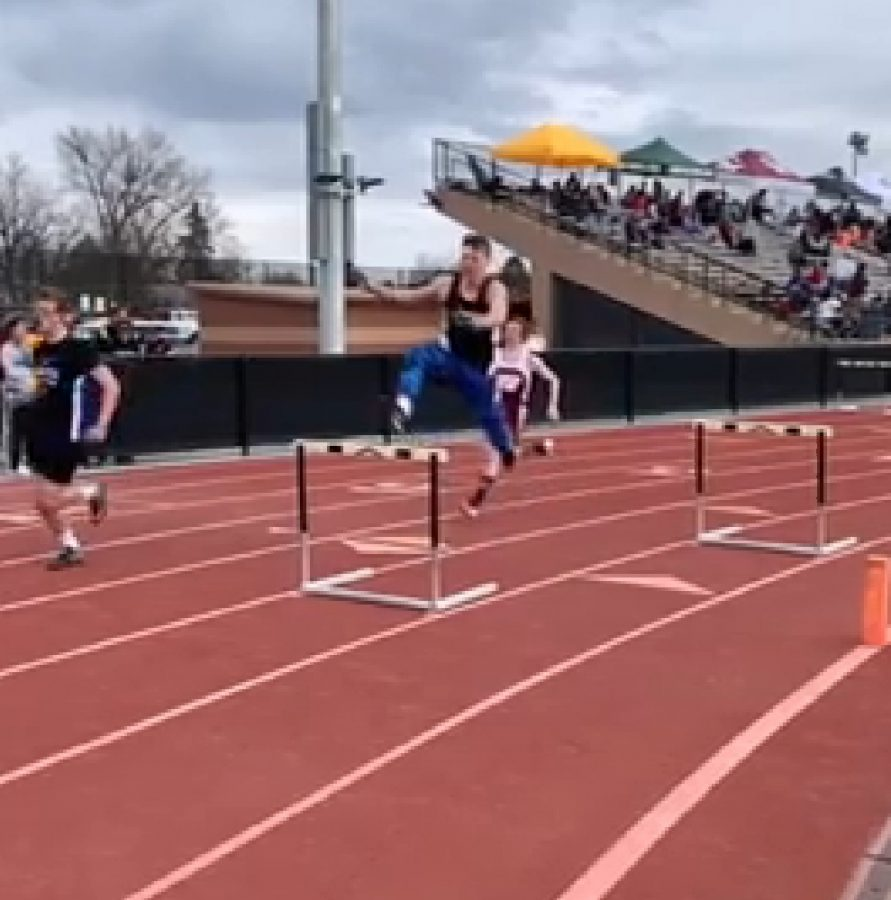 First time is a charm for track star
