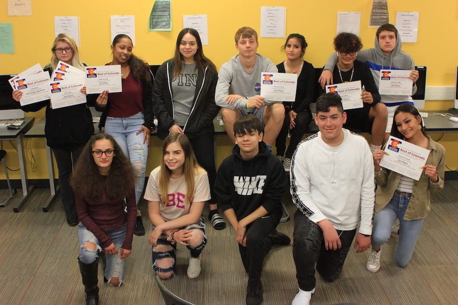 The Pirateer staff won 10 awards for their work in the newsmagazine and the on-line platform.