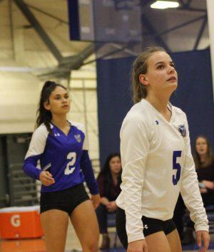 Varsity Volleyball makes history