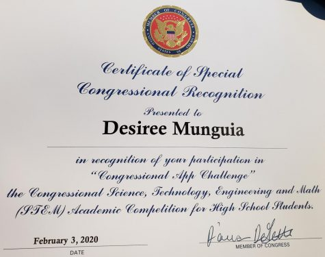 Ehs Student Wins Congressional Recognition The Pirateer