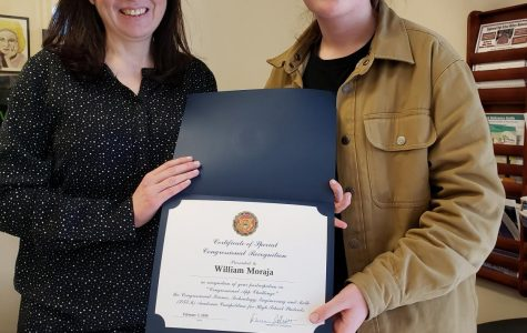 EHS student wins congressional recognition