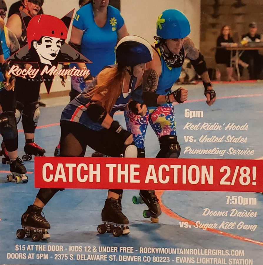 Flyer+for+the+%22Catch+The+Action%22+roller+derby+girls+event.+