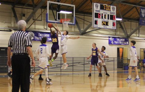 Boys Varsity basketball has a winning record for the first time in 10 years