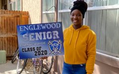 EHS staff place signs of support at homes of #2020 Seniors