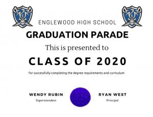 2020 EHS Graduation Celebration-Saturday, May 23, 2020
