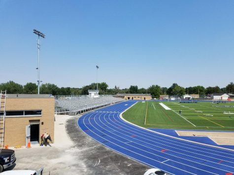 August 15, 2020 Lane 8 was added to the track