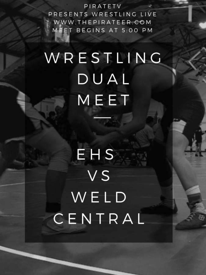 LIVE EVENT: Wrestling DUAL-EHS vs Weld Central