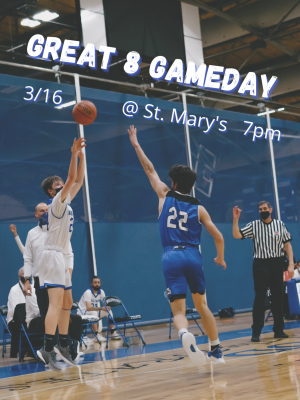 **UPDATE** Game Tuesday-Boys Varsity Basketball Make it to Great 8