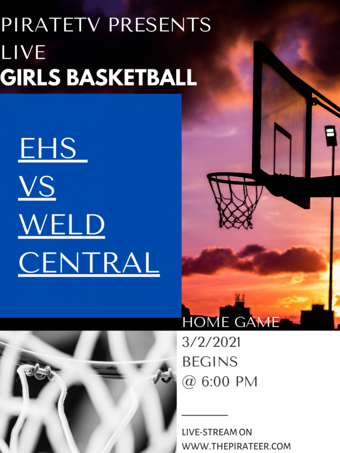 LIVE EVENT: Girls Basketball VS Weld Central  3/2/2021