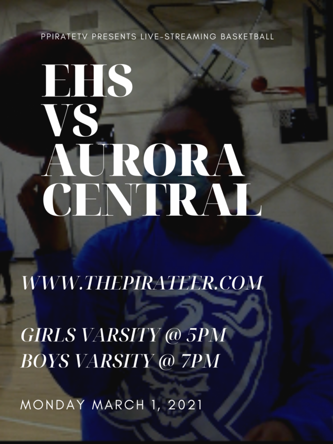 LIVE EVENT: EHS vs Aurora Central 3/1/2021