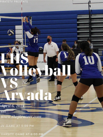 Volleyball vs Arvada-April 6, 2021 *LIVE EVENT*