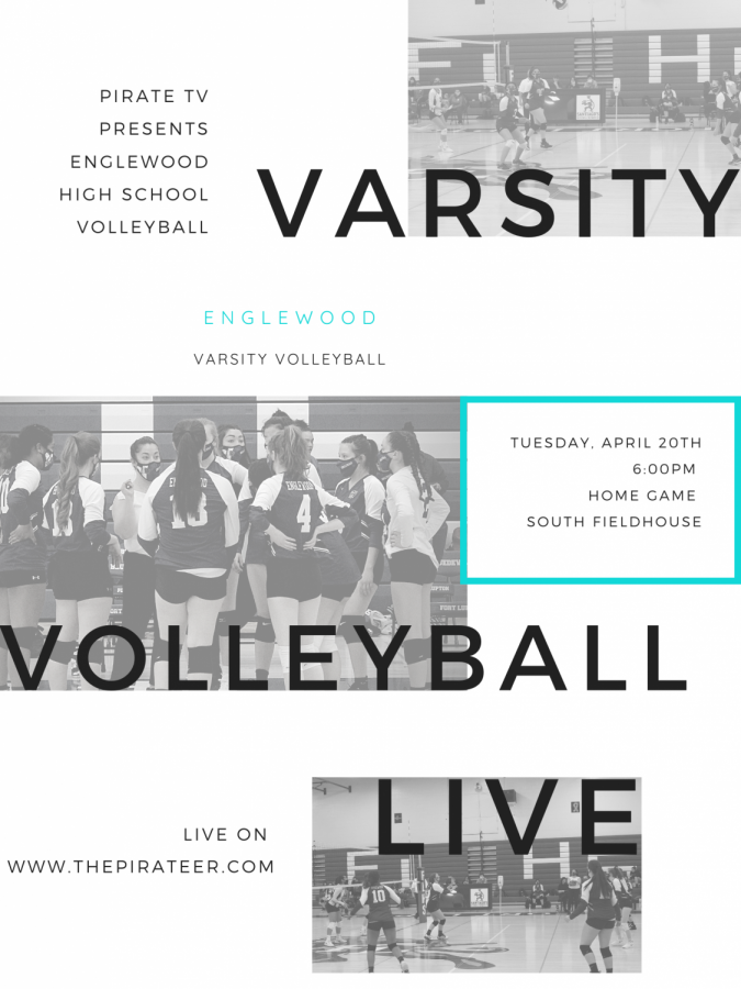 **LIVE EVENT** Varsity Volleyball April 20,2021