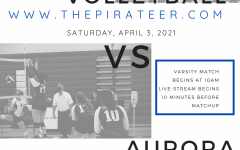 Varsity Volleyball *Live Event* 4/3/2021