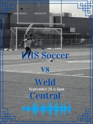 EHS Soccer vs Weld Central