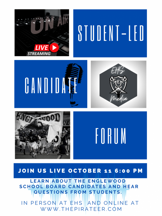 Student-led Candidate Forum *LIVE EVENT*